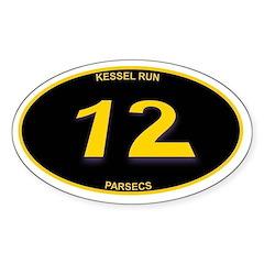 Kessel Run 12 Parsecs Decal