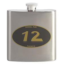 Kessel Run 12 Parsecs Flask