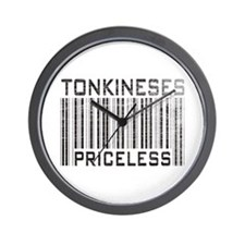 Tonkineses Priceless Wall Clock