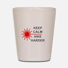 Laser Keep Calm Shot Glass