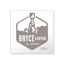 "Bryce Canyon Square Sticker 3"" x 3"""