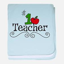 School Teacher baby blanket