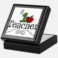 School Teacher Keepsake Box