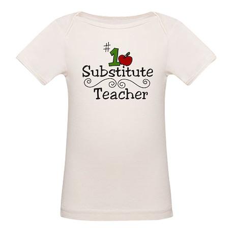 Substitute Teacher Organic Baby T-Shirt