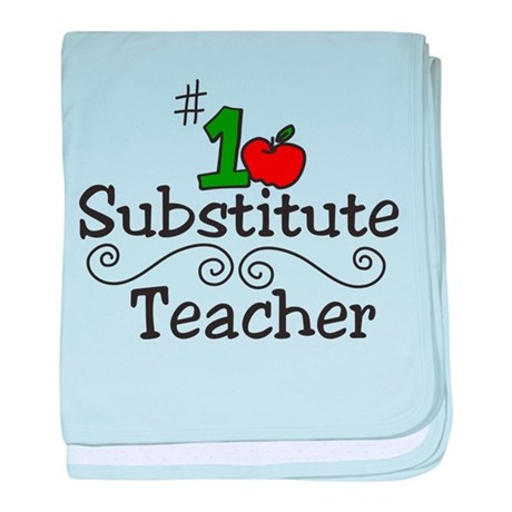 Substitute Teacher baby blanket