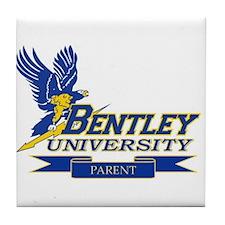 BENTLEY UNIVERSITY PARENT Tile Coaster