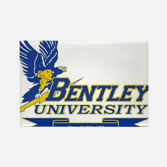 BENTLEY UNIVERSITY PARENT Rectangle Magnet