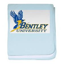 BENTLEY UNIVERSITY baby blanket