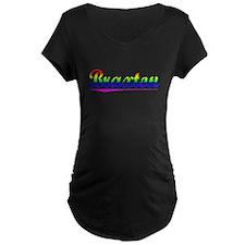 Braxton, Rainbow, T-Shirt