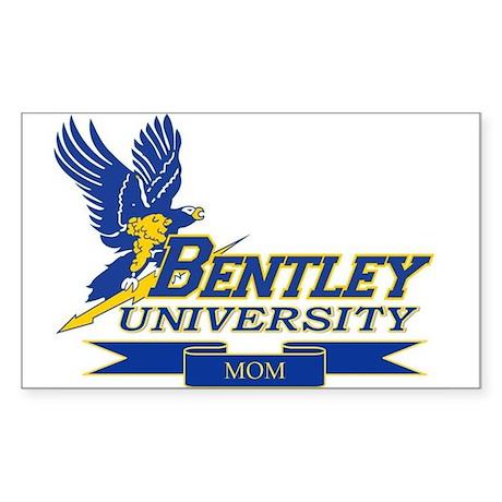 BENTLEY UNIVERSITY MOM Sticker (Rectangle)