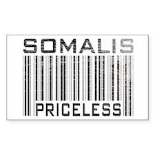 Somalis Priceless Rectangle Decal