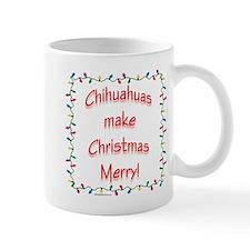 Chihuahua Merry Mug