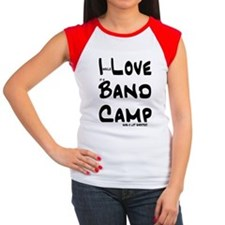 I Love Band Camp Shorter Women's Cap Sleeve T-Shir