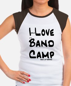 I Love Band Camp Shorter Women's Cap Sleeve T-Shir