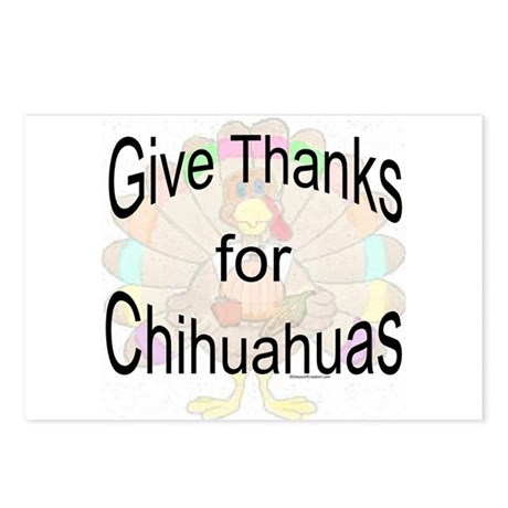 Thanks for Chihuahua Postcards (Package of 8)