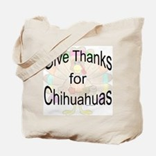 Thanks for Chihuahua Tote Bag