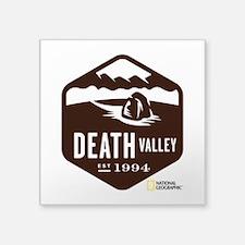 "Death Valley Square Sticker 3"" x 3"""
