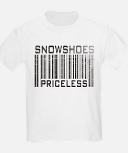Snowshoes Priceless Kids T-Shirt