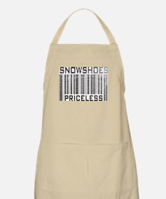 Snowshoes Priceless BBQ Apron