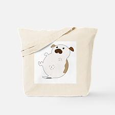 Fat Jack Russel Tote Bag