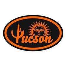 Tucson Desert Circle Decal