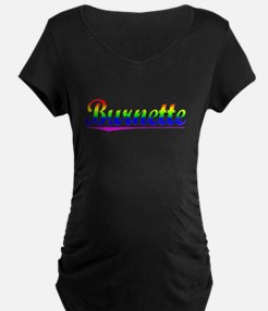 Burnette, Rainbow, T-Shirt