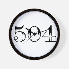 504 Wall Clock