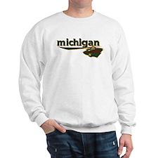 Michigan Wild wordmark Sweatshirt
