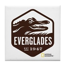 Everglades Tile Coaster