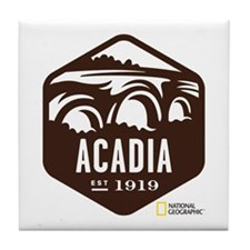 Acadia Tile Coaster