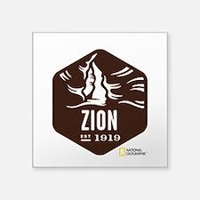 """Zion Square Sticker 3"""" x 3"""""""