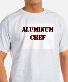 Aluminum Chef Iron Parody TV T-Shirt