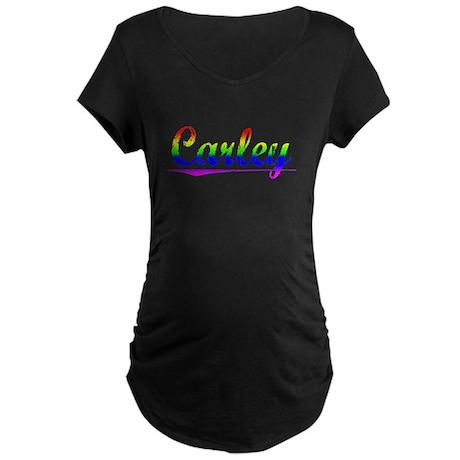Carley, Rainbow, Maternity Dark T-Shirt