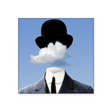 """Head In The Clouds Square Sticker 3"""" x 3"""""""