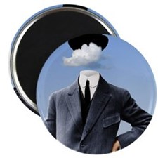 "Head In The Clouds 2.25"" Magnet (100 pack)"