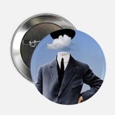 """Head In The Clouds 2.25"""" Button"""