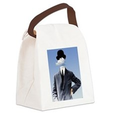 Head In The Clouds Canvas Lunch Bag