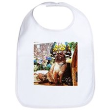 Tonkinese under Tiffany Lamp Bib