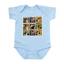 Dog Park Set of 9 Infant Bodysuit