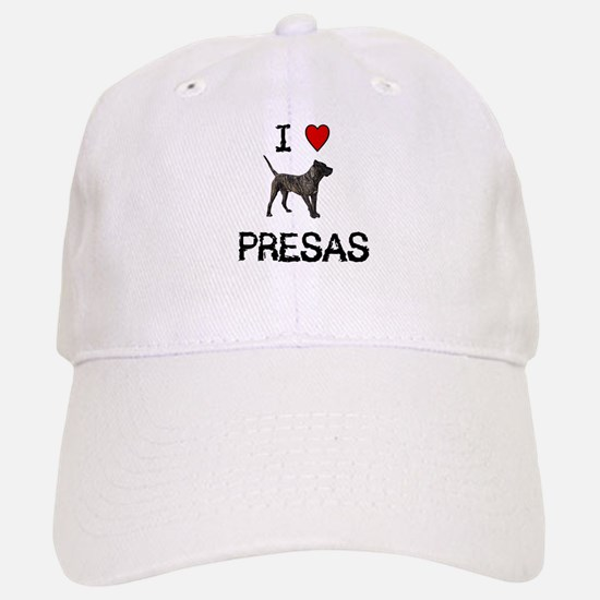 I love Presas Baseball Baseball Cap