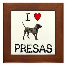 I love Presas Framed Tile