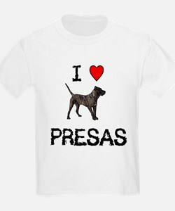 I love Presas Kids T-Shirt