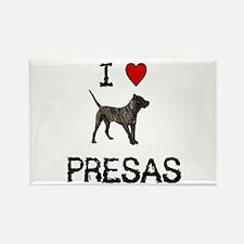 I love Presas Rectangle Magnet (10 pack)