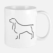 Field Spaniel Sketch Mug