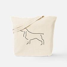 Field Spaniel Sketch Tote Bag