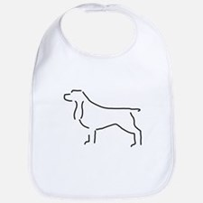 Field Spaniel Sketch Bib