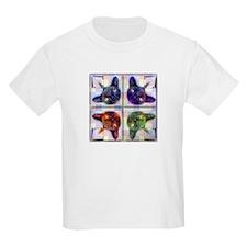 Mirrored cat image 8 T-Shirt