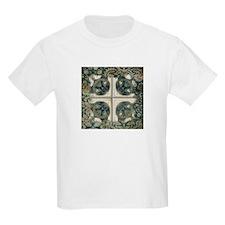 Mirrored cat image 7 T-Shirt