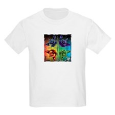 Mirrored cat image 6 T-Shirt