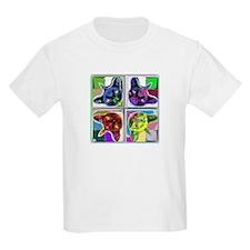 Mirrored cat image 4 T-Shirt